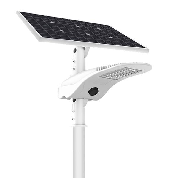 50W Intergrated Smart Solar LED Street Light - OPSHINE -Solar Lights  Manufacturer